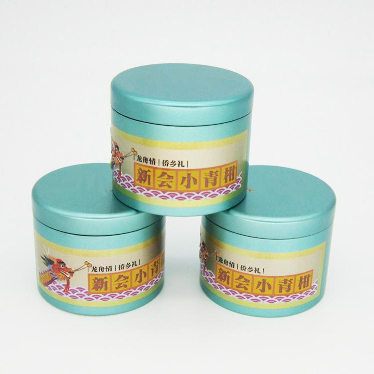 圆形小青柑铁罐
