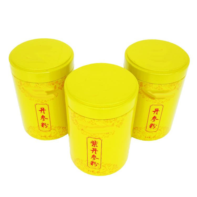丹参粉铁罐
