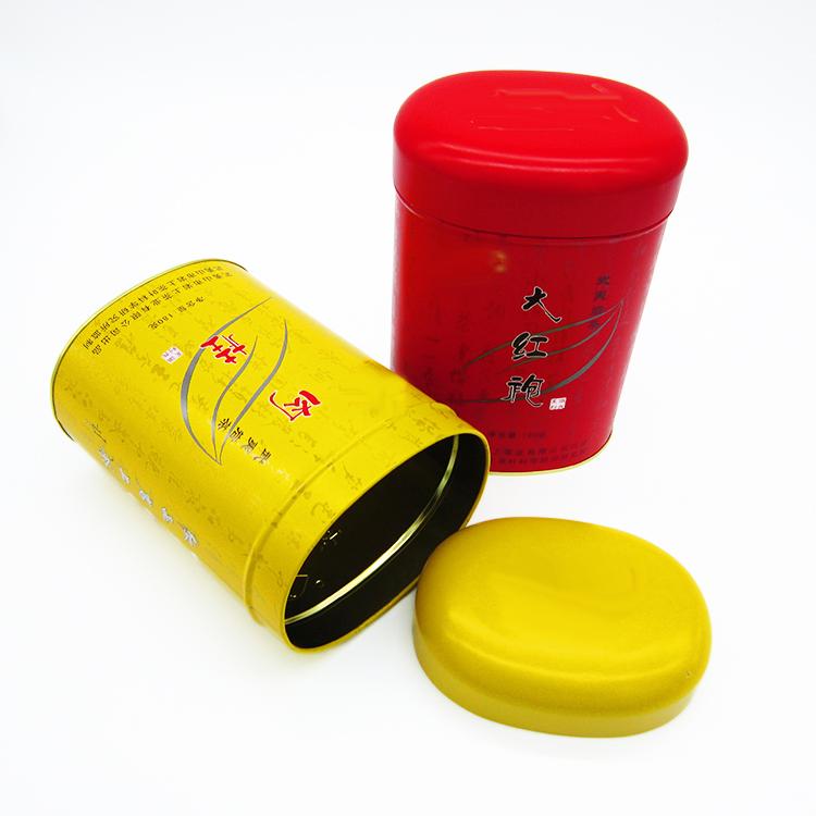 椭圆形铁罐