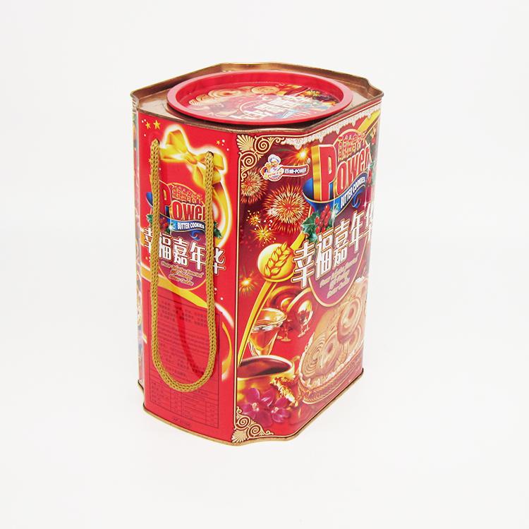 曲奇饼干铁罐