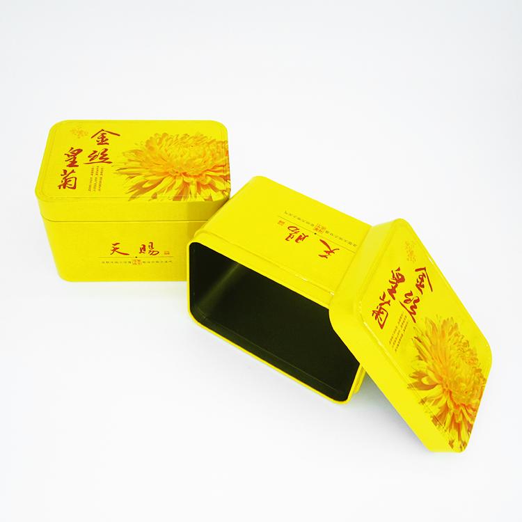 金丝皇菊铁盒