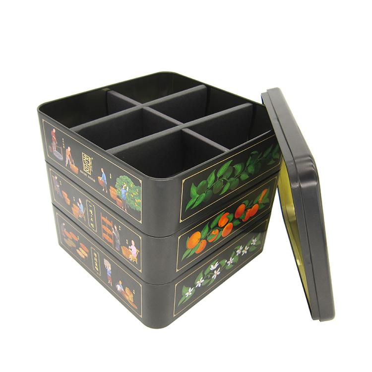 三层小青柑铁盒