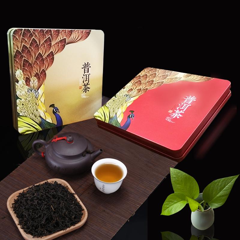 普洱茶饼包装铁盒