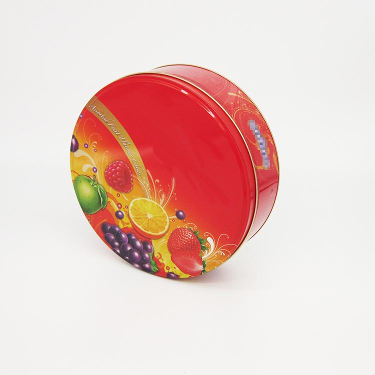 瑞士糖果铁盒