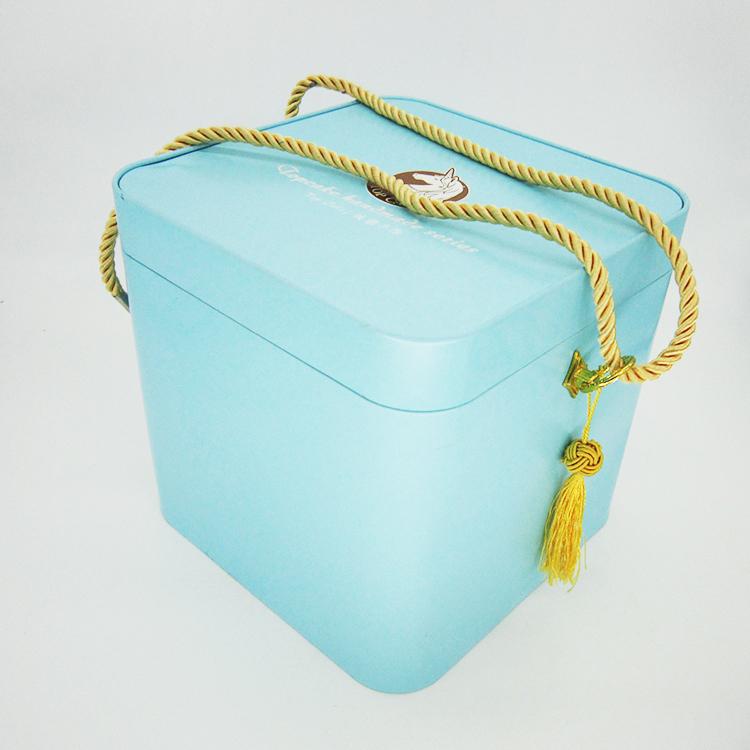 手提绳铁盒