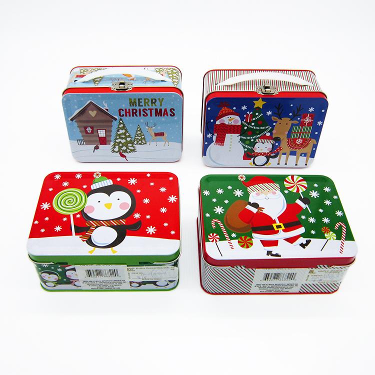 圣诞节礼品铁盒