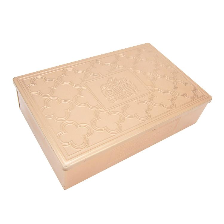 长方形直角铁盒
