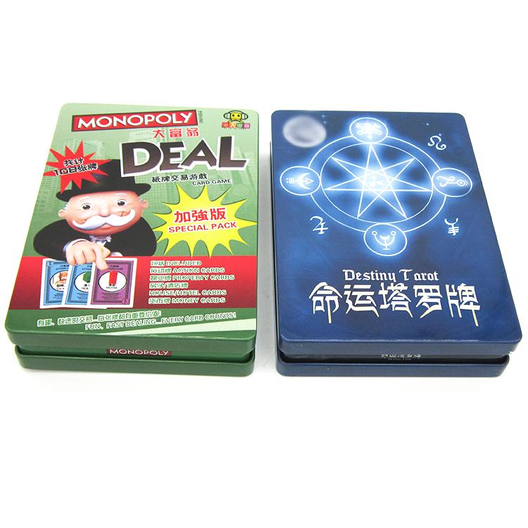 扑克牌铁盒