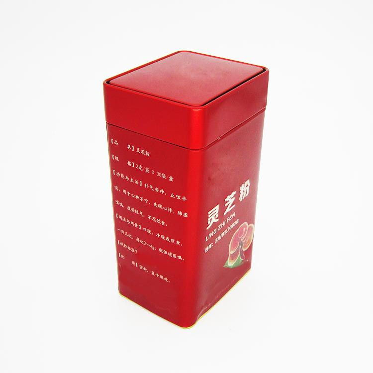 灵芝粉铁盒